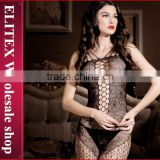 Wholesale Black Crochet Fashion Woman Sexy Lingerie Hot Full Body Stocking
