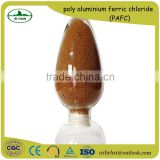 Factory direct sales of water purification agent Polyaluminium ferric chloride / PAFC 35%