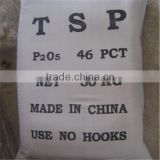 Yunnan manufacturer P2O5 46% granular quick Triple superphosphate Fertilizer TSP FOB price