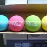 Game Colorful Rubber Handball/Game hollow ball/Mini Pressure Handballs/ with Higher Jumping ability