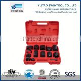 14pcs Ball Joint Service Repair Removal Install Press Adapter Tool Set