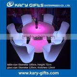 Good design LED event furniture tables with night club accessories lighting up table furniture