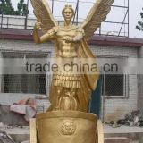 Garden life size casting bronze outdoor soldier statues
