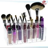 High Quality Custom Clear Transparent Acrylic Makeup Brush Holder