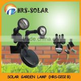 10pcs LED solar garden spot light with remote control (HRS-0202B )