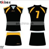 sublimation dry fit netball jersey with design