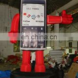 inflatable phone model/ inflatable mobile phone replica model/ inflatable phone product replica
