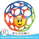 China manufacture plastic silicon teether baby for sale
