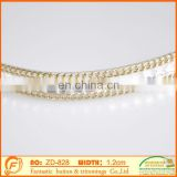 fashion rhinestone jewelry chain for women braid wedding decoration trimmings