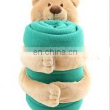 soft bear blanket white bear blanket soft plush blue blanket