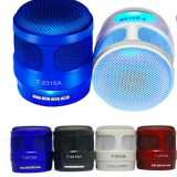 Portable Mini Wireless Bluetooth Speaker with Light FM