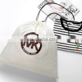Wholesale cotton cloth drawstring bag custom logo