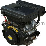 Direct Injection 25HP V-Two 4-Stroke Air Cooled Diesel Engine For Sale