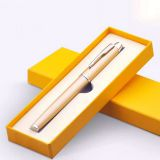 Luxury High-end gift packing cardboard pen box,custom pen packing gift box with EVA