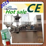 shoe polishing tube filling and sealing machine