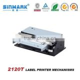 Retail sticker label printing machine /label printer mechanism