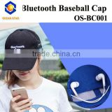 Fashion bluetooth baseball cap bluetooth baseball cap hard hat