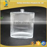 100ml glassflat shape perfume bottle with sprayer perfume use industrial                                                                                                         Supplier's Choice