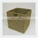 seagrass storage foldable laundry basket