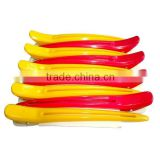 Colorful Plastic Hair Cutting Clip , rubber hair clip                                                                         Quality Choice