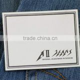New products super quality custom blank leather jacket patches