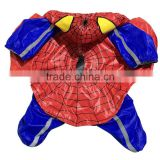 Wholesale Spring and Early Autumn Spider Dog Clothes Raincoat with Inner Mesh Fabric