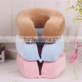 Memory Foam Pillow Neck U-Shape Headrest Car Flight Travel Soft Nursing Cushion                                                                         Quality Choice