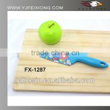 Colorful pattern printing kitchen chef knife with PP handle                                                                         Quality Choice