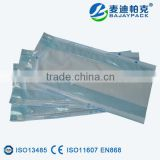 Good quality Sterilization gusseted paper-film pouch for gauze bandage