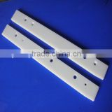 wholesale white uhmwpe block PE CNC machining plastic precision part