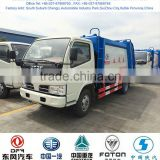 hot sale dongfeng garbage truck, garbage container truck