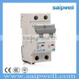Saipwell International Standard High Quality Hot Sale New Design 2pole 2014 CEE/IEC Circuit Breaker Mini