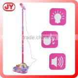Funny kids toy microphone music box with fmusic box plastic and EN71