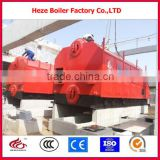 DZH2-0.7-M hand feeding wood biomass pellet steam boiler