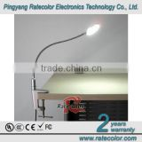 "2014 The best LED table lamp for Hotel/ school/ children downlight with touch switch and ""F""shape clamp"