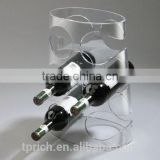 High quality Wholesale hanging wine glass rack