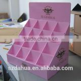 Cardboard Counter Display, PDQ Display, pos display stand cosmetic