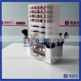 China Factory custom acrylic lipstick holder / acrylic lip gloss organizer