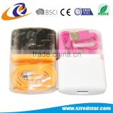 2 in 1 foldable travel wall charger