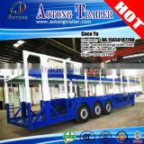 3 axis 22Meters 10 units transporting truck car carrier semi-trailer with ABS braking system