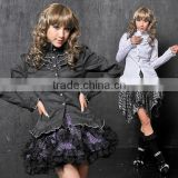 GOTHIC DOLLY PUNK Lolita CUTE 81084 RUFFLE SLEEVE blouses S-L 81084