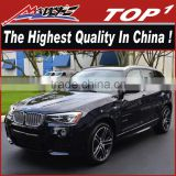 for 2011-2016 bmw x3 for M-sport body kit the highest quality PU/Carbon Fiber Body Kits for BMW X3