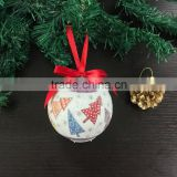 Wholesale Christmas Tree Ornament Gift Ribbon Foam Ball Decoration New Year Craft Supply Party Birthday Wedding Decor                                                                         Quality Choice