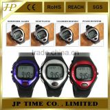 Pulse Heart Rate Monitor Calories Counter Fitness heart pulse Watch wrist watch StopWatch Alarm FM