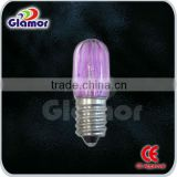 CE/GS approved colorful PC cover decor led bulb