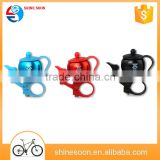 Bicycle teapot hand bell Bicycle horn Mountain bike bell cycling equipment Bicycle accessories