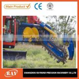 excavator equipment rock trencher apply to gas,water piping
