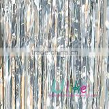 silver shiny metallic curtain Wedding Foil Curtain Products from Global Metallic Foil Curtain Suppliers and Metallic Foil