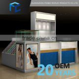 Sales Promotion Small Order Accept Wood Display Cabinet With Glass Doors