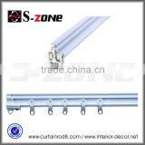 Szone SC01 PVC 5.8m/6.6m flexible curved curtain rail